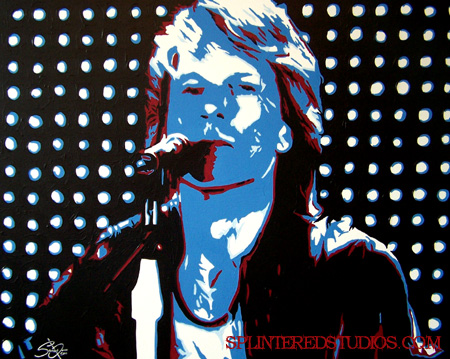 Bon Jovi Commissioed Painting