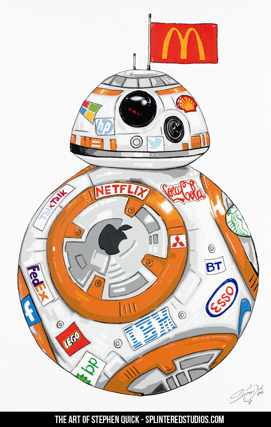 BB-8 (as sponsored by)