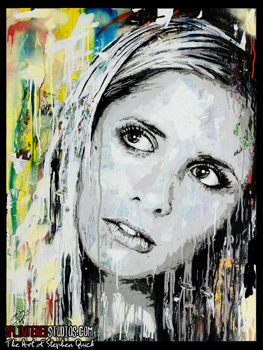 Buffy Painting
