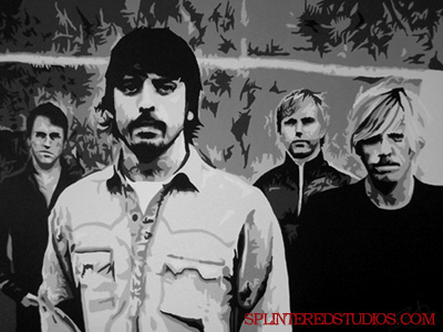 Foo Fighters Painting
