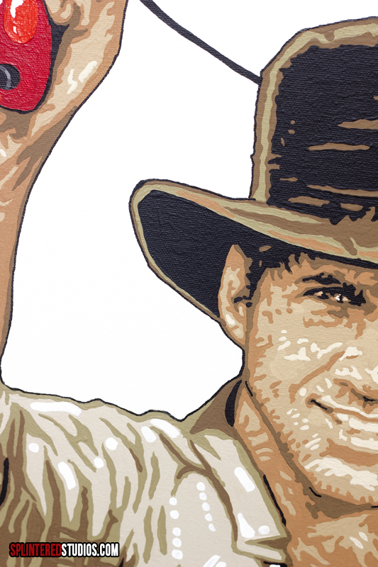 Indy / Zapper Painting Detail