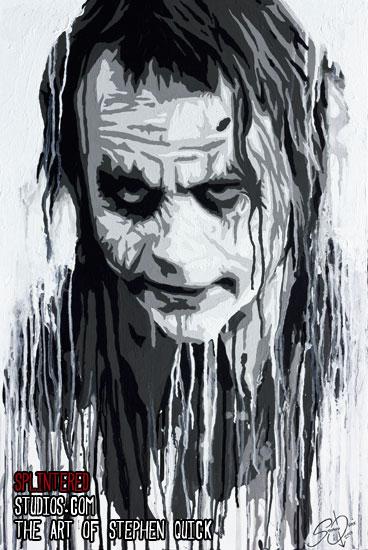 Orginal Painting The Joker Canada