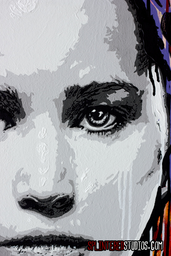 Katniss Hunger Games Painting Detail