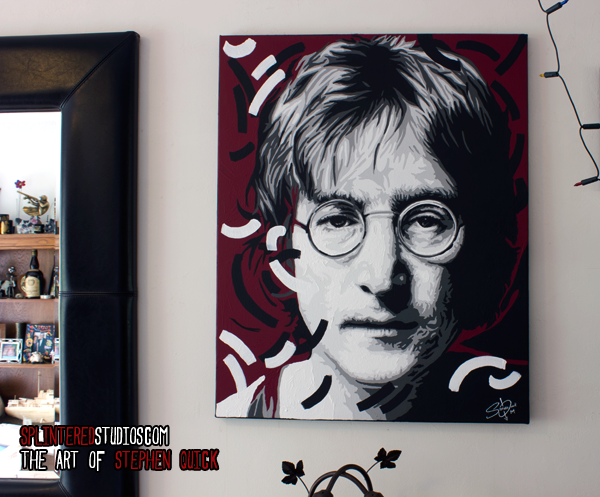 John Lennon Painting Imagine Lennoj Art