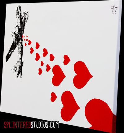 Love War 6 Satire Art Splintered Studios The Art Of Stephen Quick