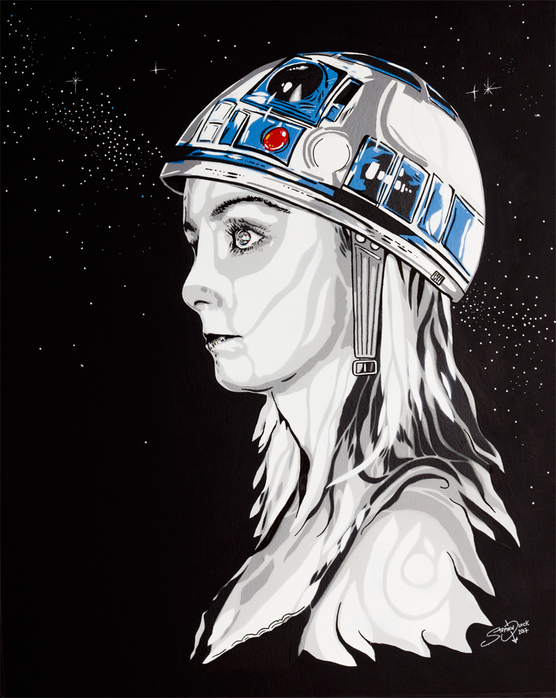 Star Girl - Star Wars Mash Up by Stephen Quick