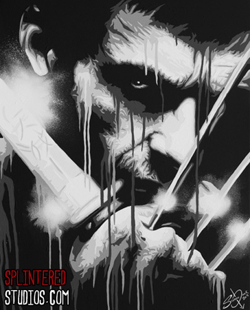 The Wolverine Painting